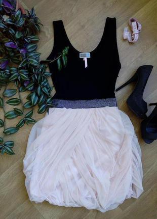 Платье с фатином lipsy