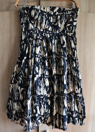 Красивое платье бандо от french connection
