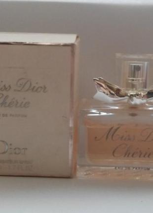 Christian dior miss dior cherie первый выпуск 2005 год