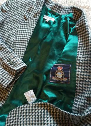 Giorgio armani/новый твидовый блейзер-пиджак от люксового бренда