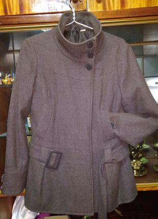 Удлиненный осенний весенний жакет пальто