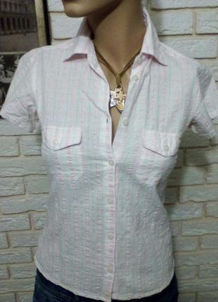 Блузка - рубашка 100% котон  индия