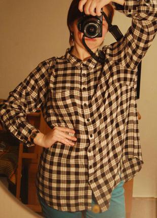 Рубашка оверсайз new look