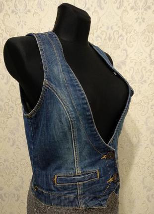 Жилетка джинсовая tom tailor