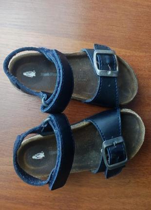 Босоножки hush puppies 22-23 р 14-14.5 см. ортопедические сандали
