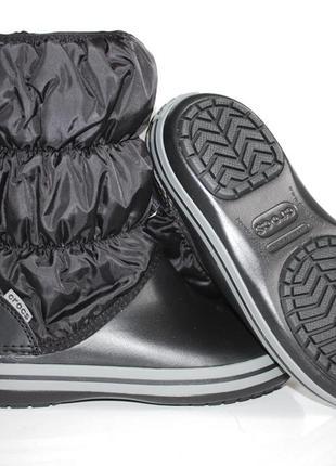 Зимние ботинки crocs