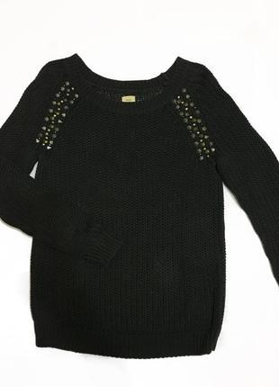 Вязаный свитер bershka