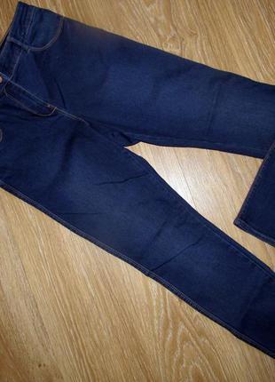 Шикарные плотные джинсы р.12