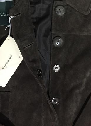 Фирменная замшевая куртка la redoute