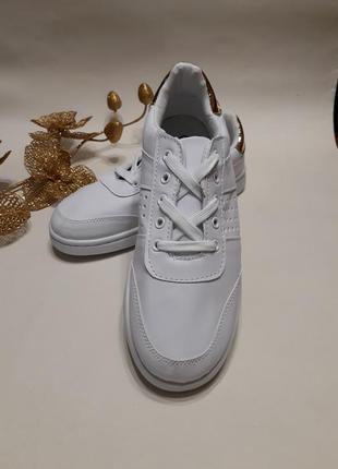 Жіночі кросівки (кроссовки) білого кольору розмір 37, 38, 39, 40, 41.