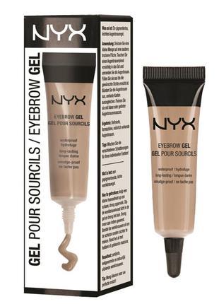 Гель для бровей водостойкий nyx eyebrow gel