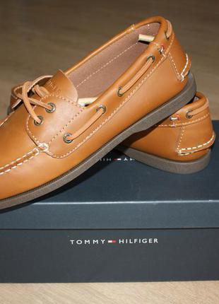 Кожаные туфли hilfiger