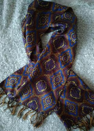 Шелковый шарфик