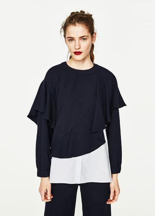 Zara свитер кофта рубашка, s-m