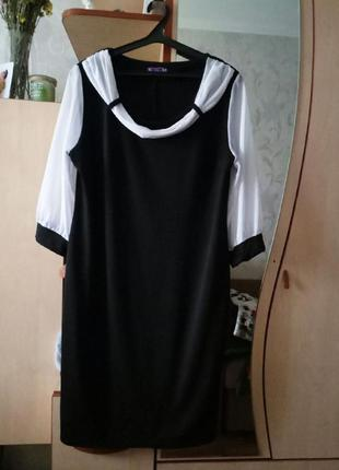 Черное платье gloria romana
