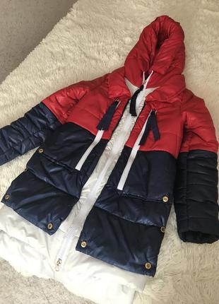 Куртка тёплая на синтепоне