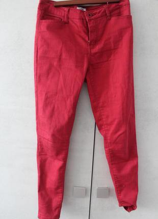 Красные брюки vero moda