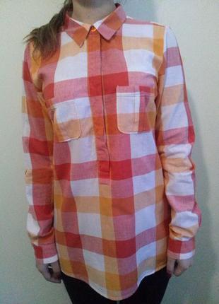 Рубашка в клетку vila clothes
