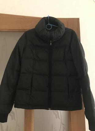 Двухсторонняя чёрная курточка, синтепон