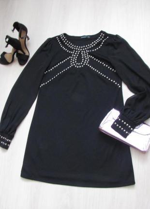 Платье с шифоновым рукавчиком.