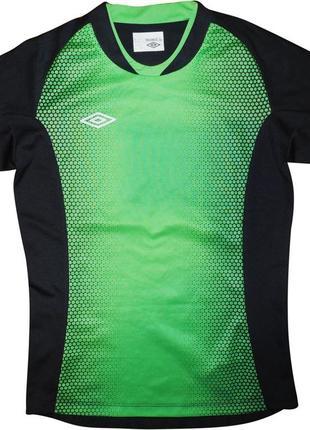Футболка серая зеленая для спорта фитнеса umbro gt s eur 152см