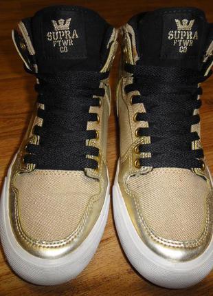 88465f0daa83 ... Высокие женские кеды, кроссовки supra footwear р.39 стелька 24,5  оригинал2 ...