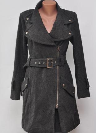Отличное пальто в стиле милитари