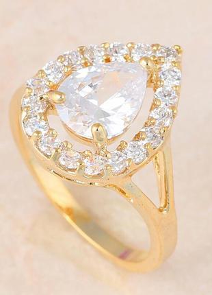 Красивое кольцо колечко каблучка . бижутерия . размер 18