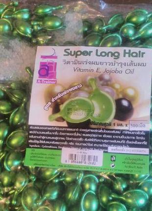 Тайские витамины для роста и от сечения волос