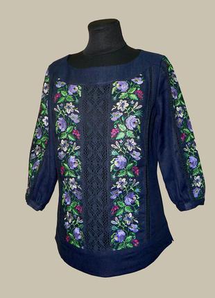 Необыкновенной красоты блуза-вышиванка