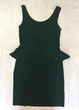 Платье-баска