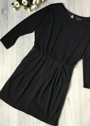 Фирменное платье zara, размер s с открытой спинкой