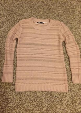 Пудровый свитер atmosphere