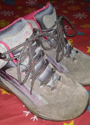 Крутые утепленные термо ботинки regatta 21 см