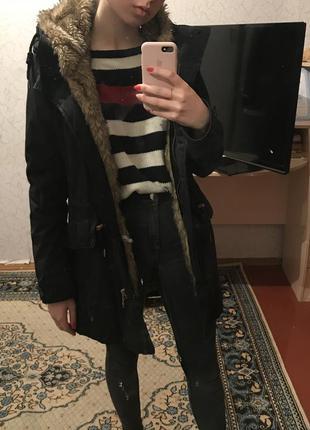 Супер куртка парка pull&bear