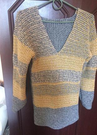 Термо свитер/туника/кольчужка ручная работа