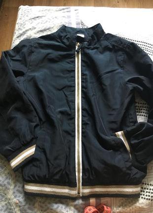 Куртка ветровка бомбер на 3-4 года river island