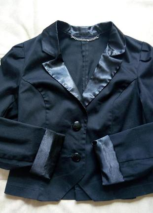 Пиджак школьный tammy девочке на рост 140-146см
