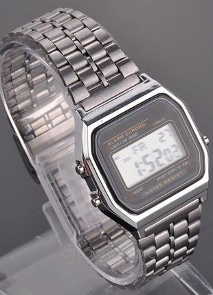 Легендарные часы ретро, серый цвет