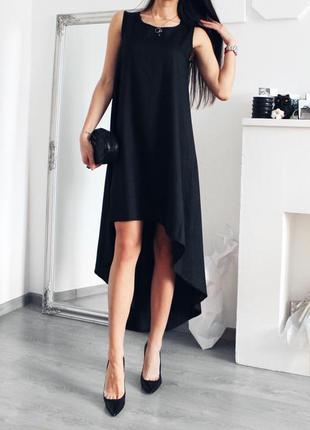 2c012a23ace Шикарное чёрное платье свободного кроя 399 грн!размер one size ...