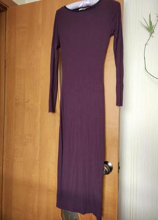 Довге плаття марсала new look xs