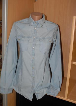 Молодежная котоновая рубашка s