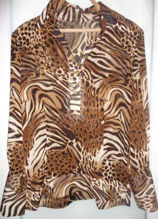 Шифоновое блуза
