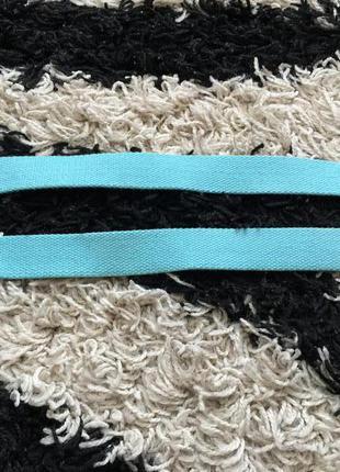 Голубой  бирюзовий ремешок фирми h&m