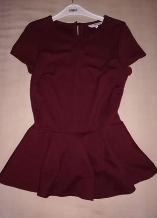 Блузка с баской new look