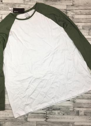 Мужской хлопковый реглан, футболка с длинным рукавом, джерси,