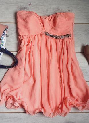 Красивое вечернее платье lipsy