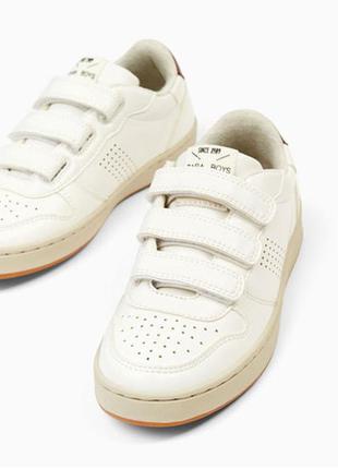Кроссовки на липучках от zara. размеры 37,40