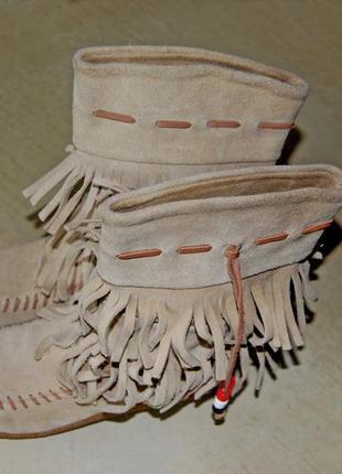 Kickers – отличные демисезонные детские замшевые сапожки, размер 34 (стелька 21,5 см)