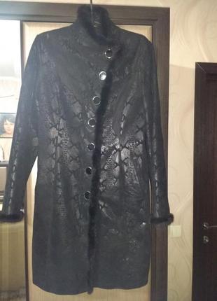 Пальто на весну-осень на наш 48 размер